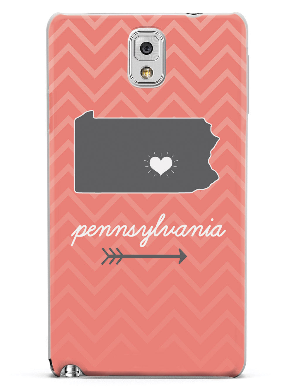 Pennsylvania Chevron Pattern State Case