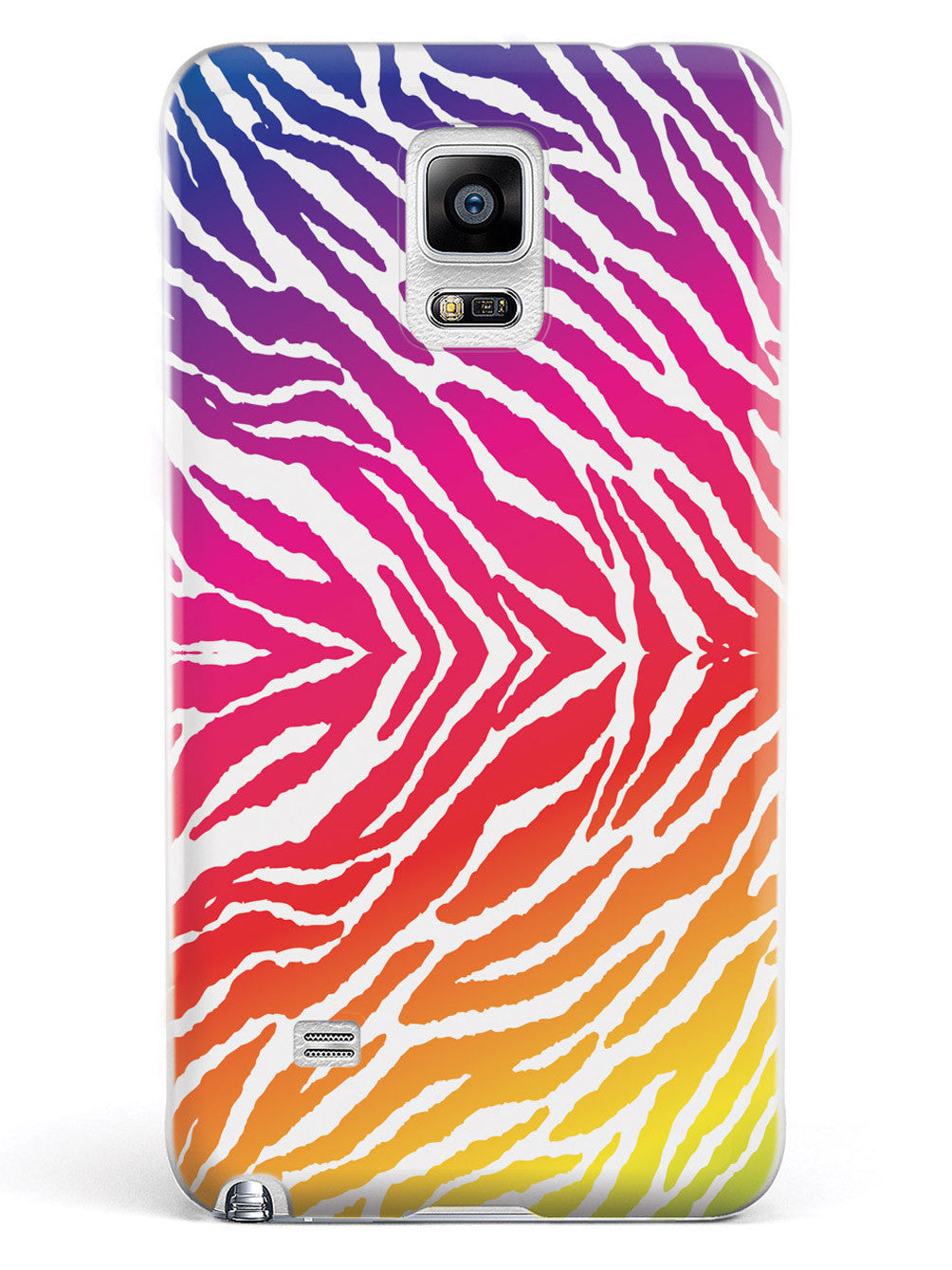 Zebra Animal Rainbow Star Pattern Case