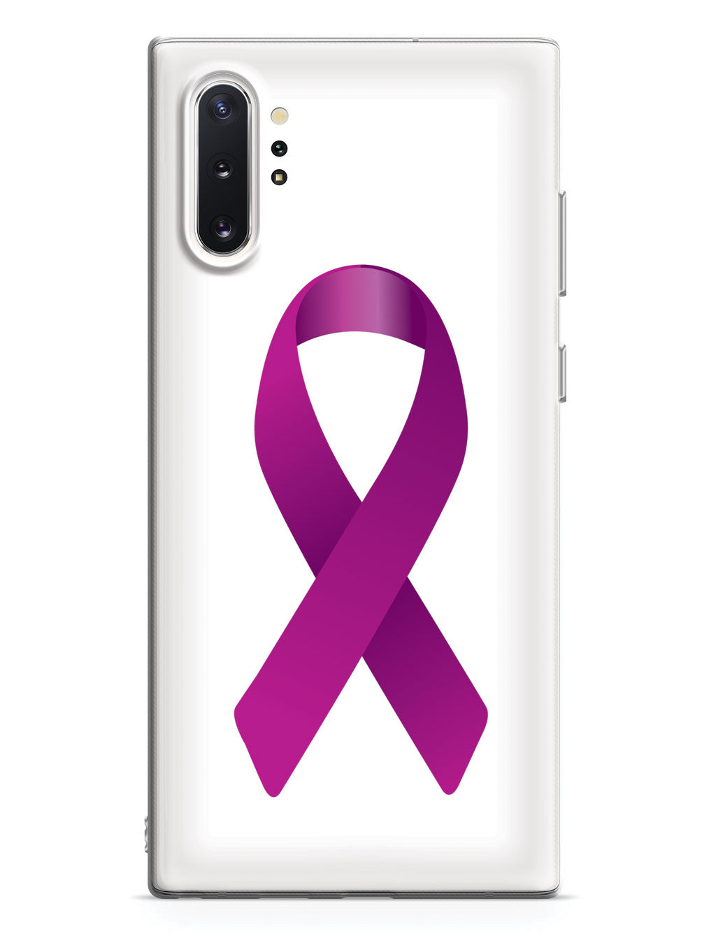 Violet Awareness Ribbon Case
