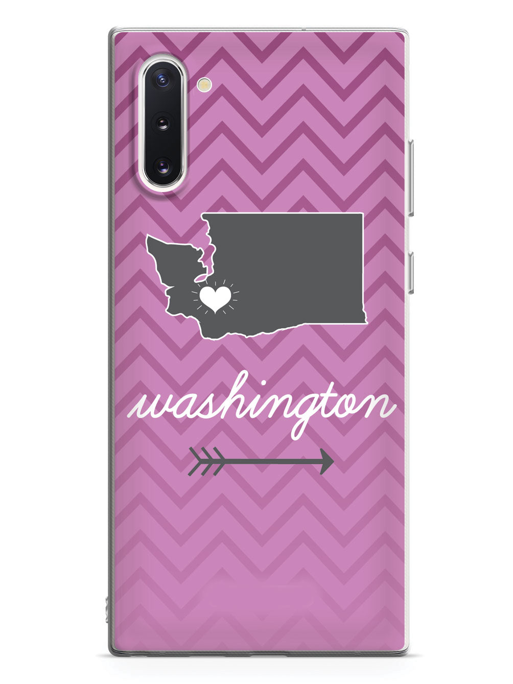 Washington Chevron Pattern State Case