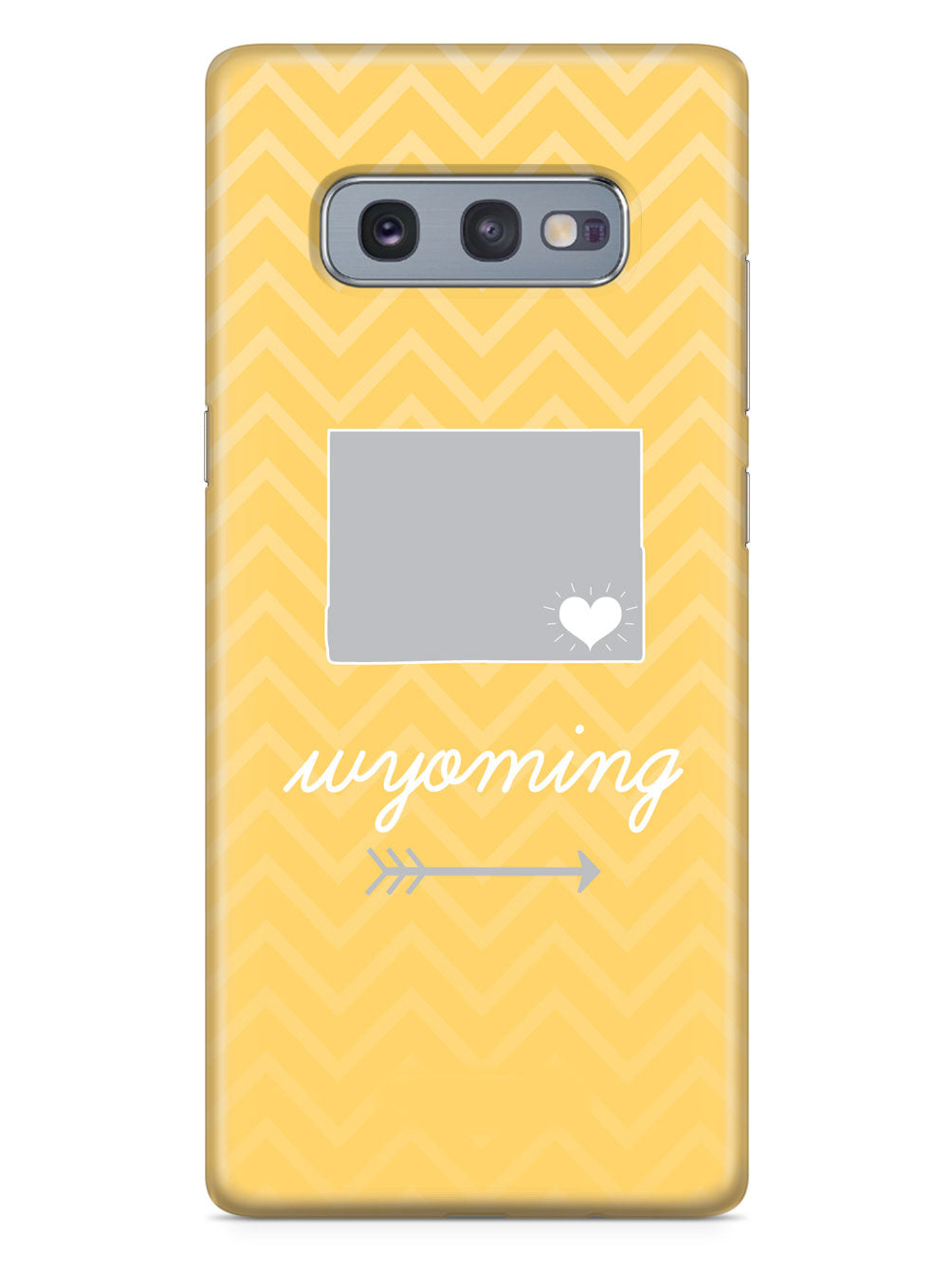 Wyoming Chevron Pattern State Case