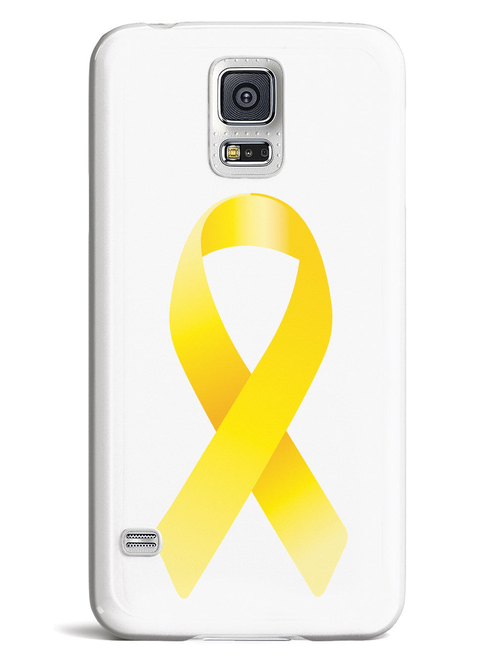 Yellow Awareness Ribbon Case
