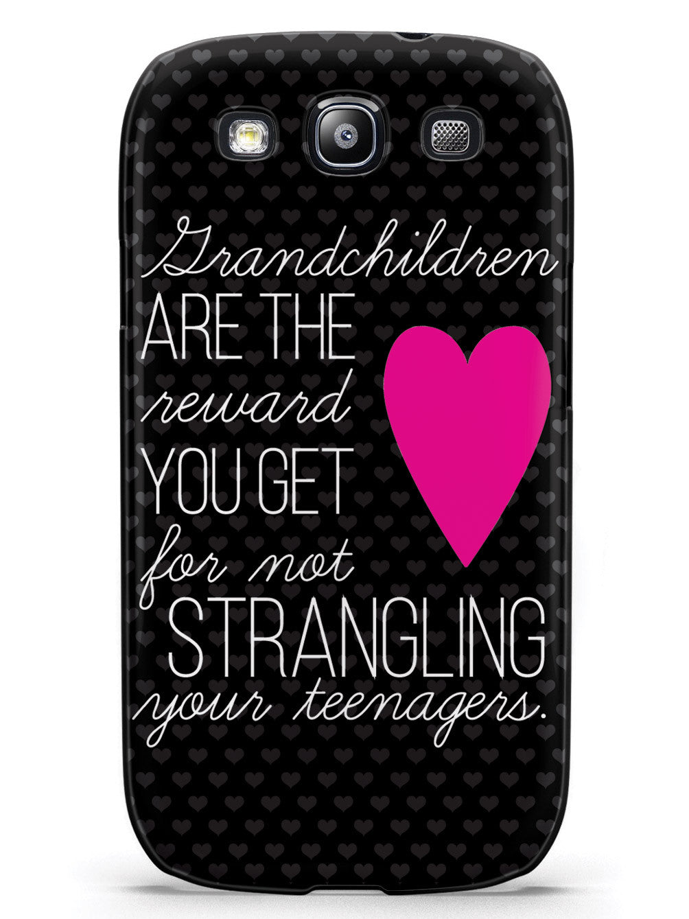 Grandchildren are the Reward You Get Grandpa Grandma Grandparents Case