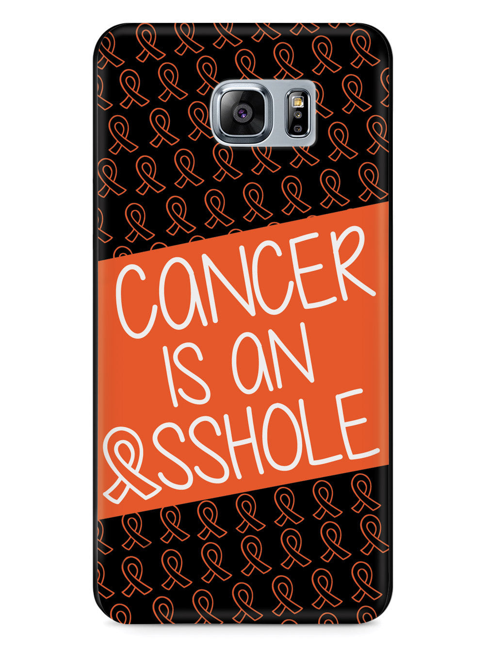 Cancer is an ASSHOLE Orange Case