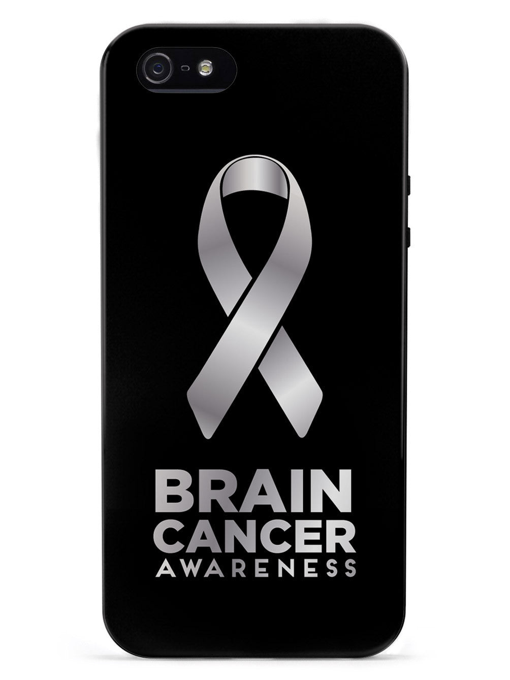 Brain Cancer Awareness Ribbon Case