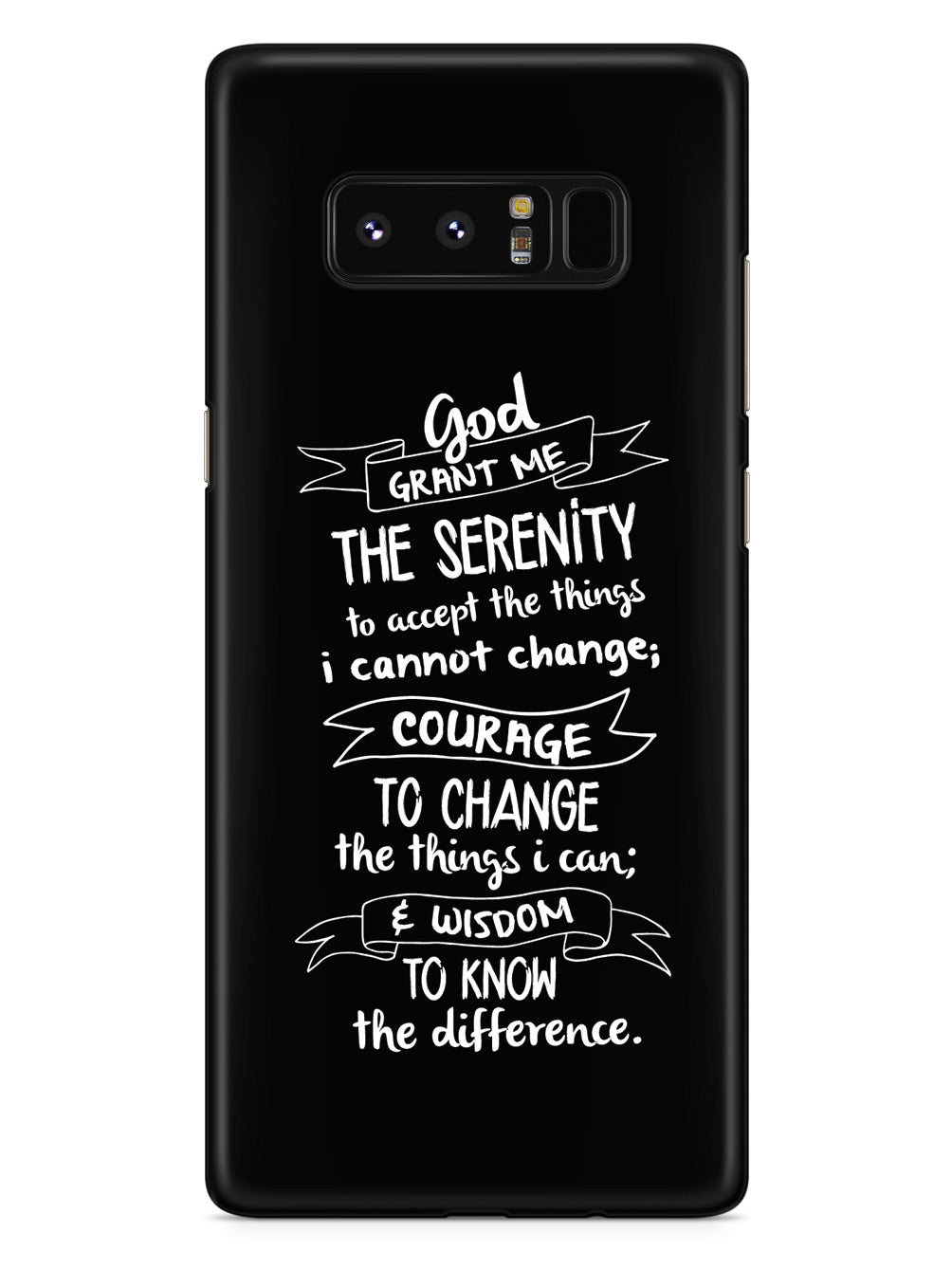 Serenity Prayer - Chalk Case