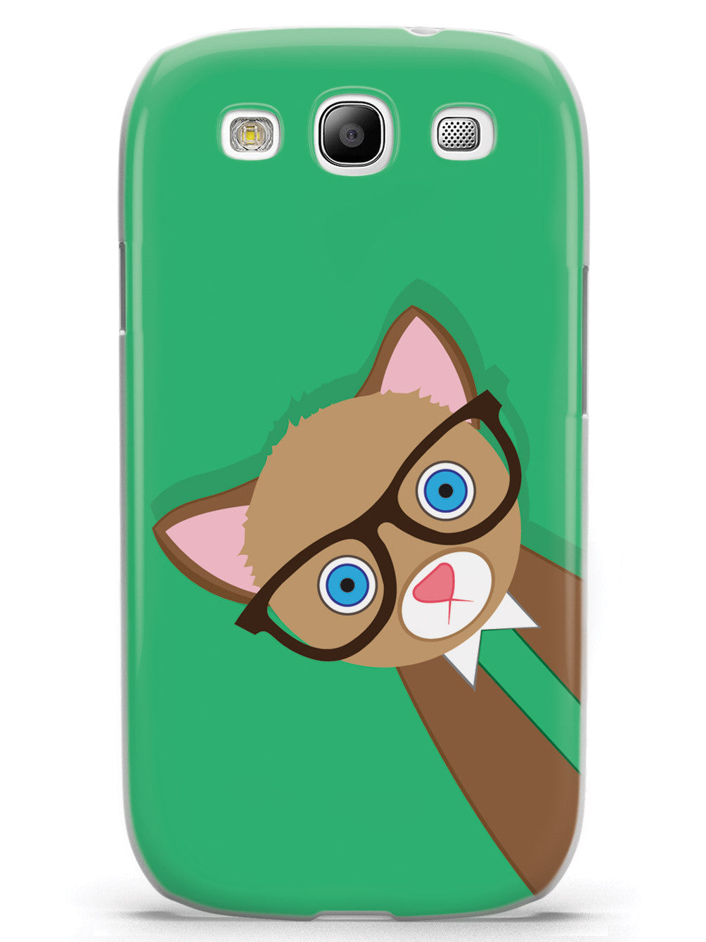 Hipster Cat Case