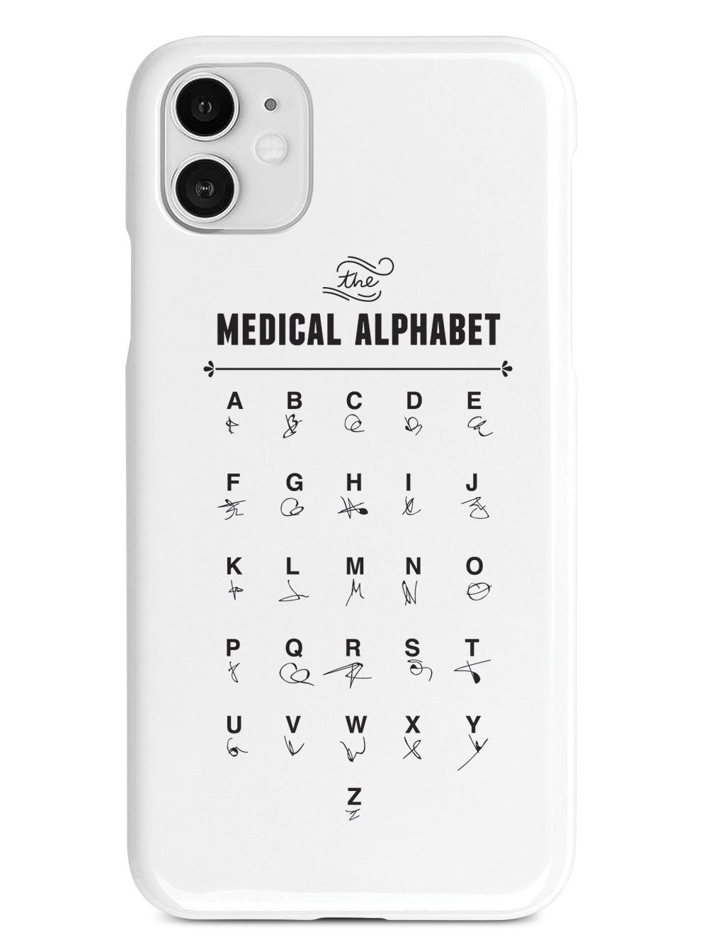 The Medical Alphabet Doctor's Case