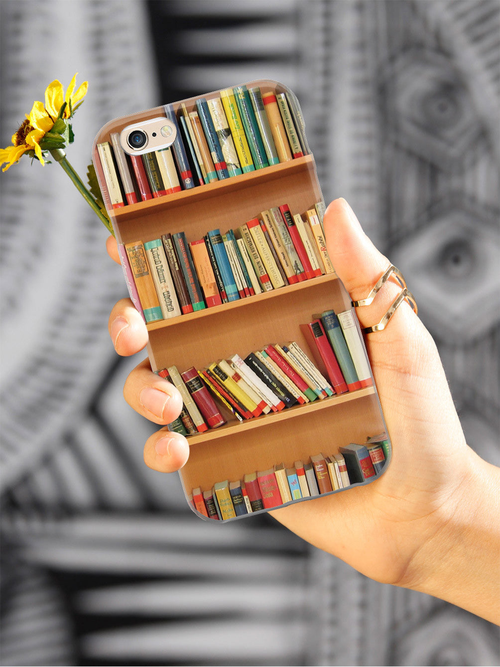 Bookshelf - Book Lover Case