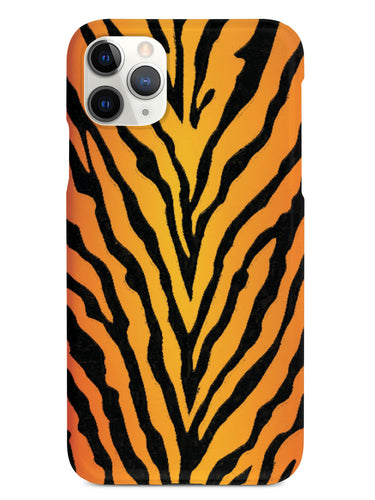 Bright Tiger Print Pattern Case