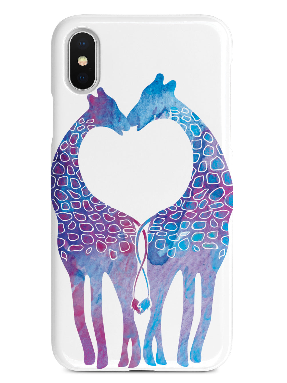 Giraffe Love Pattern Case