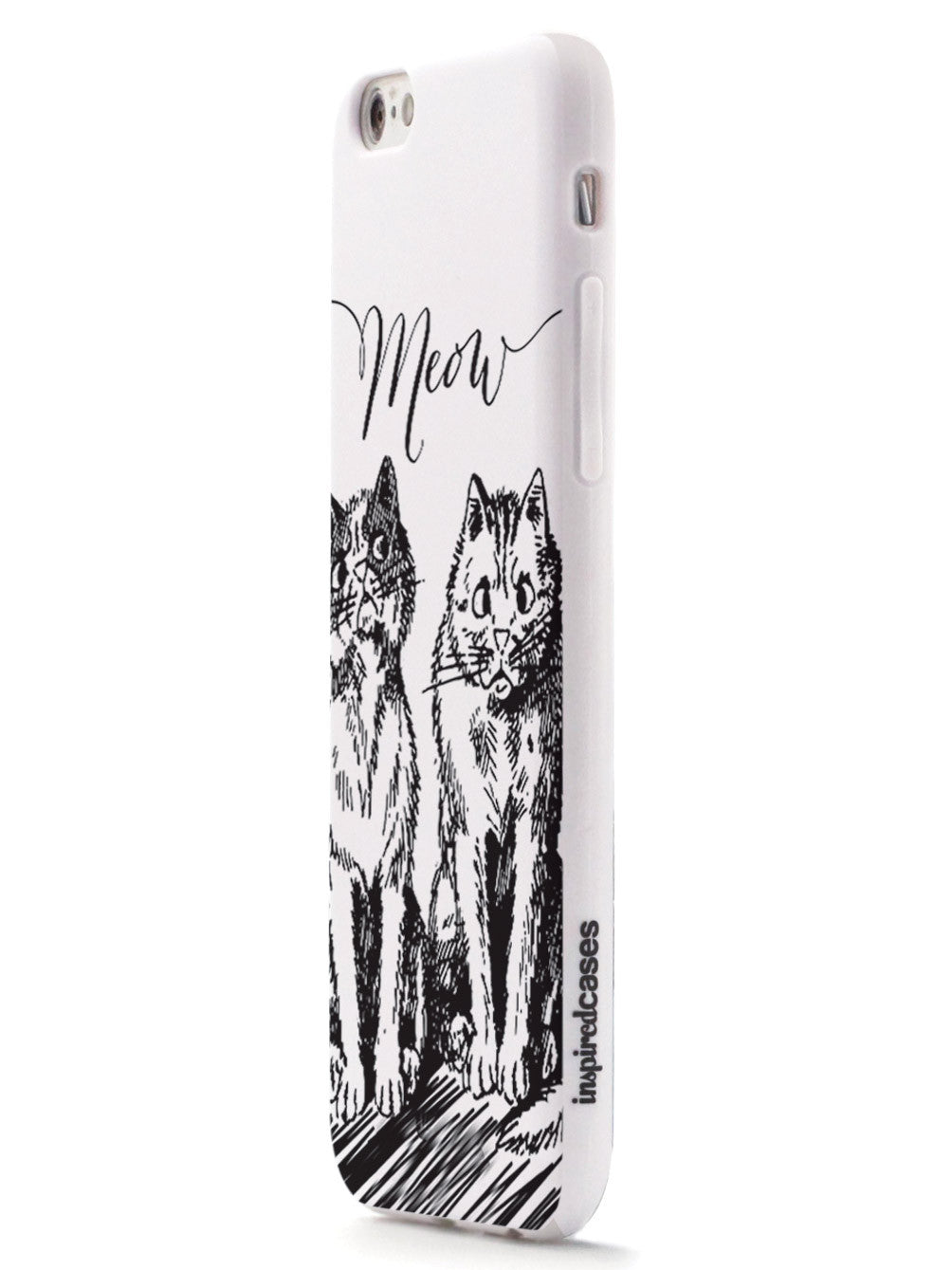 Meow! Sketchy Kitties Cat Case