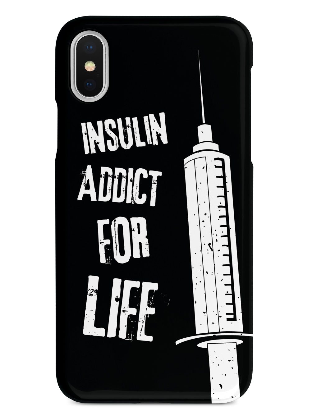Insulin Addict for Life Case Diabetes Awareness