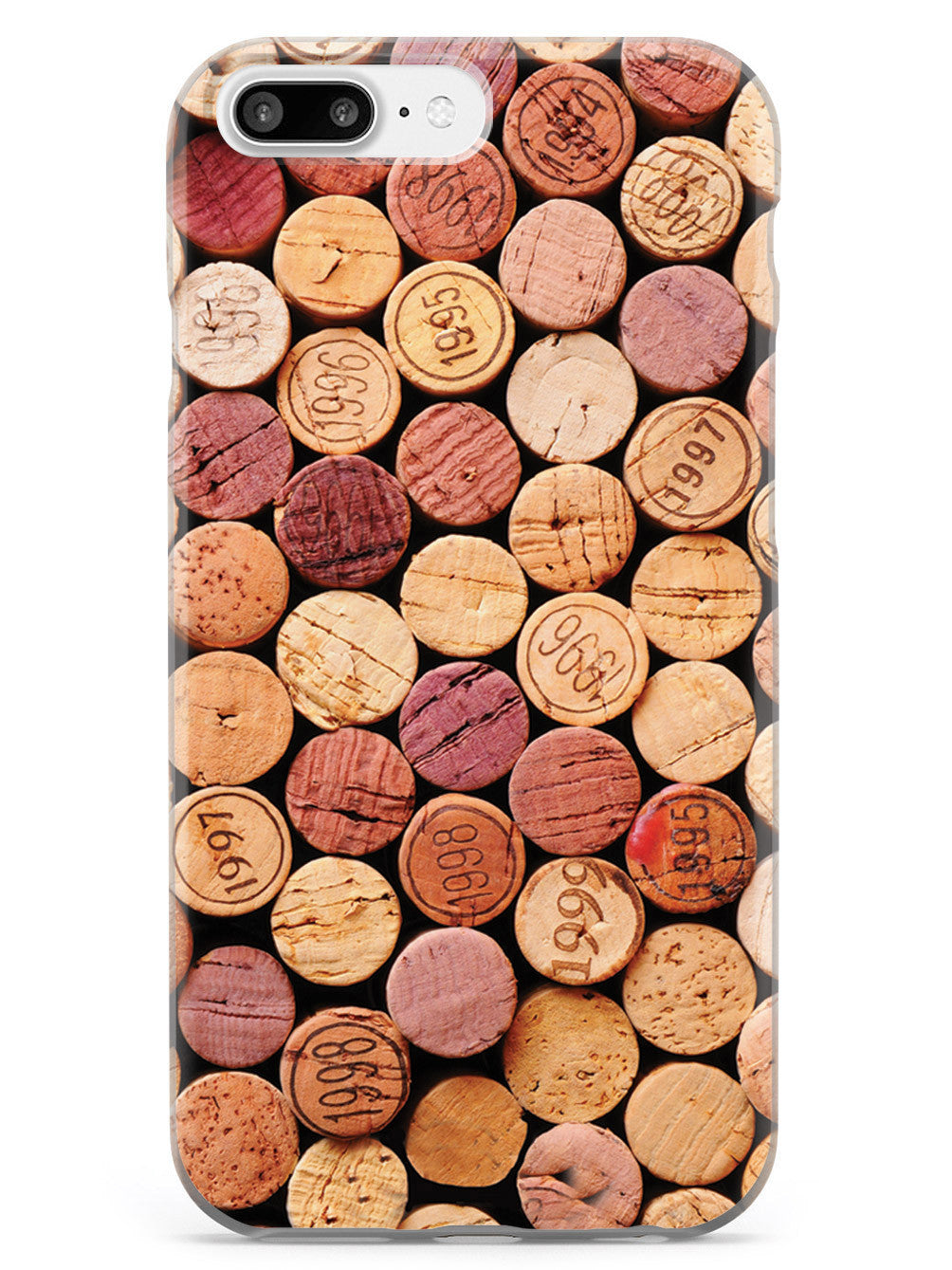 Wine Corks Vino Wine Drinker Case