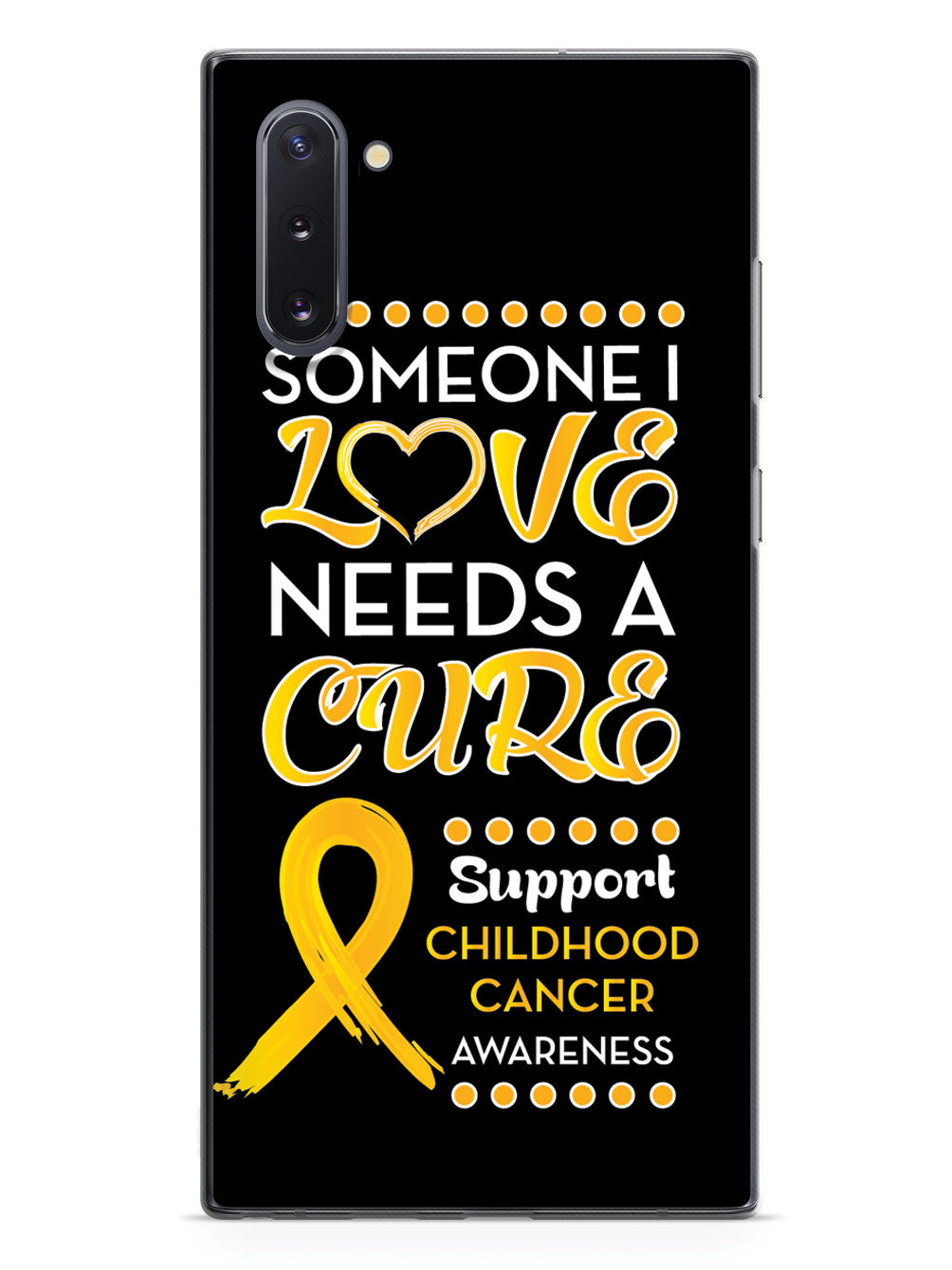 Someone I love - Childhood Cancer Awareness Case