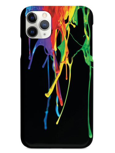 Rainbow Paint Drip Case