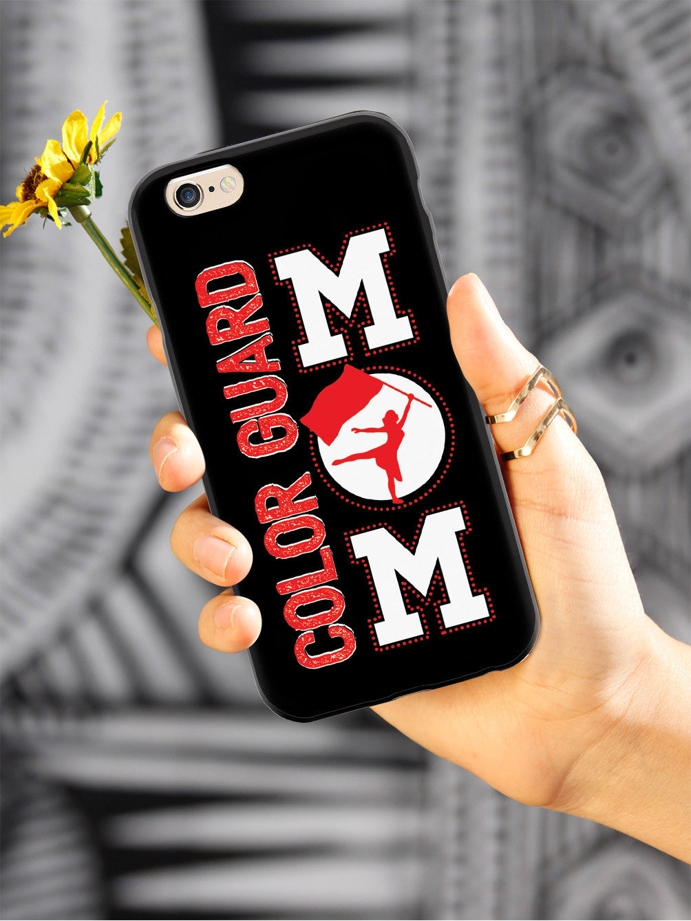 Color Guard Marching Band Flag  Mom Case
