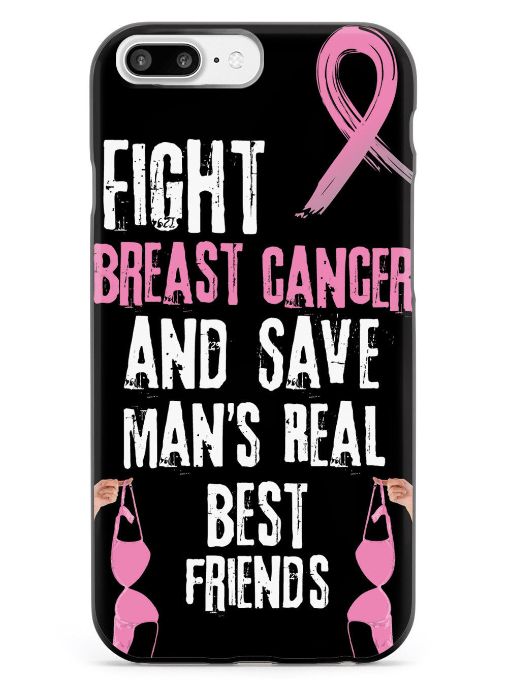 Fight Breast Cancer and Save Man's Real Best Friends Case