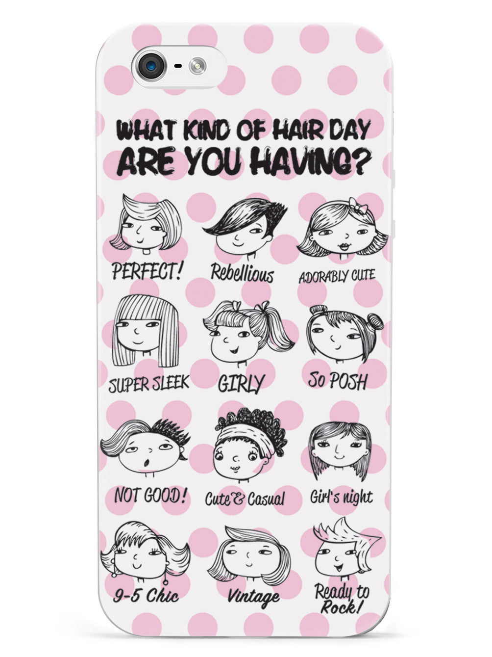 Hair Day Guide Hairstylist Barber Case