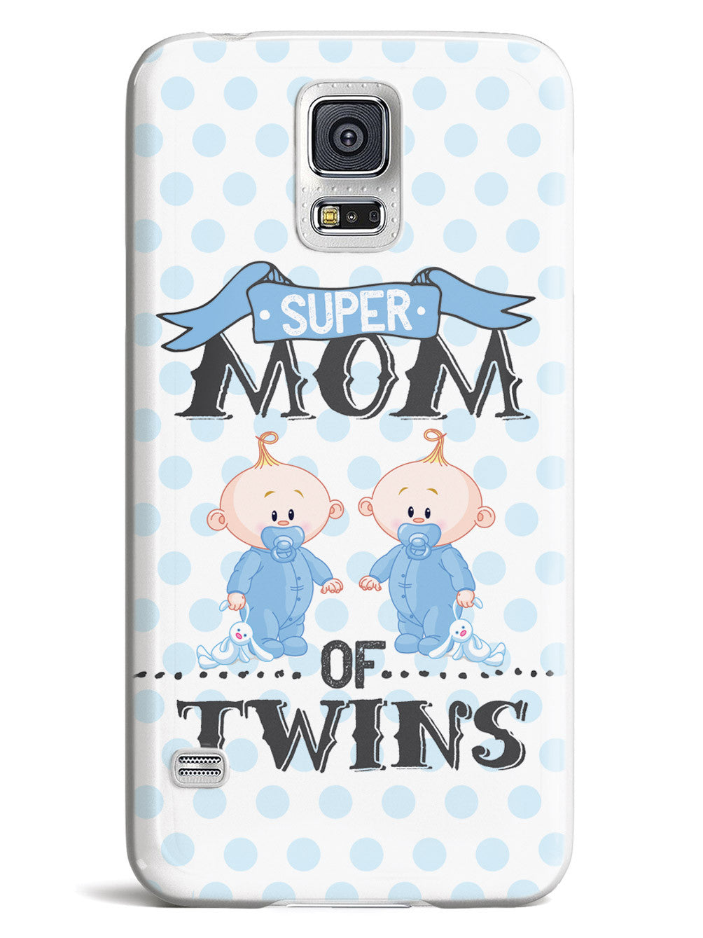Super Mom of Twins - Boys Case