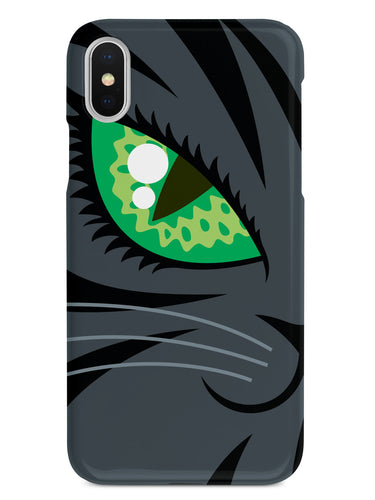 Creepy Black Cat Halloween Case