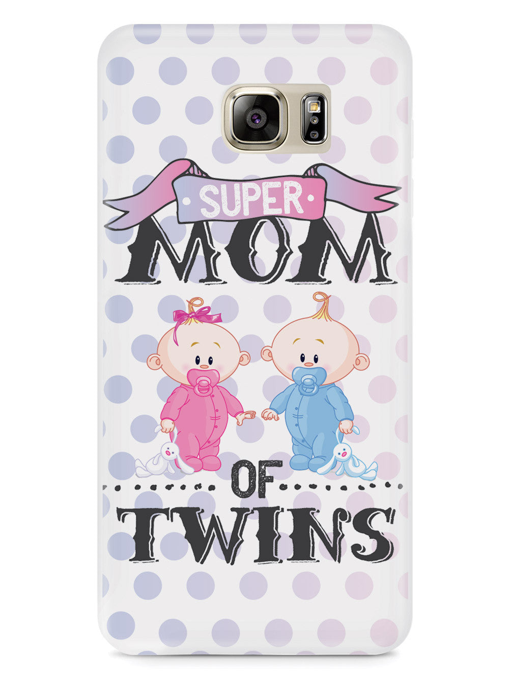 Super Mom of Twins - Girl and Boy Case
