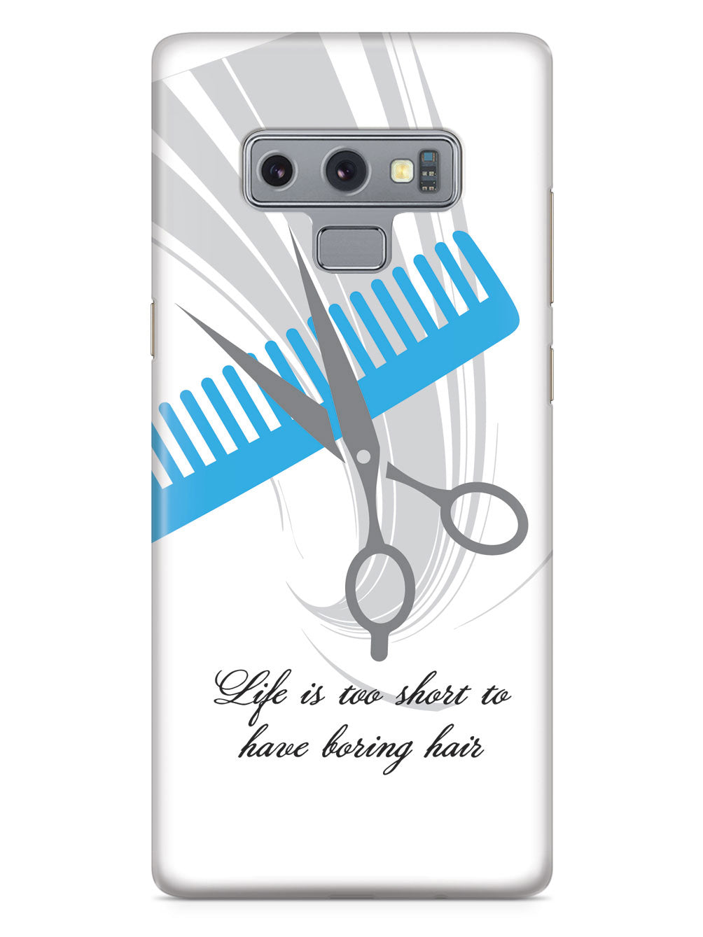 Hairstylist - Life is Too Short Barber Hair Dresser Cosmetologist  Case