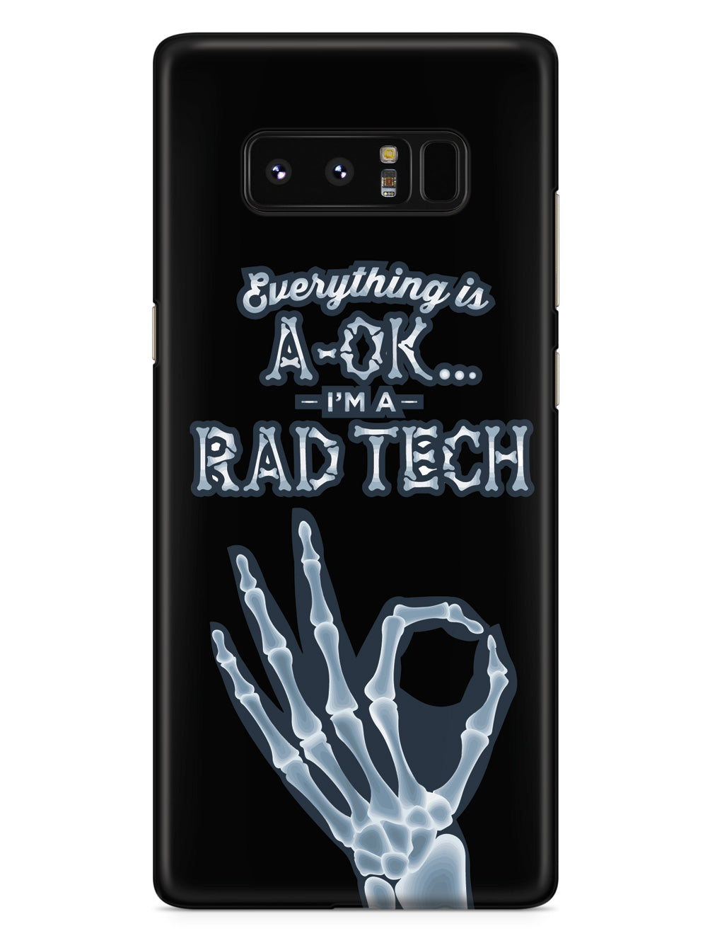 I'm a Rad Tech! Radiology Technician  Case
