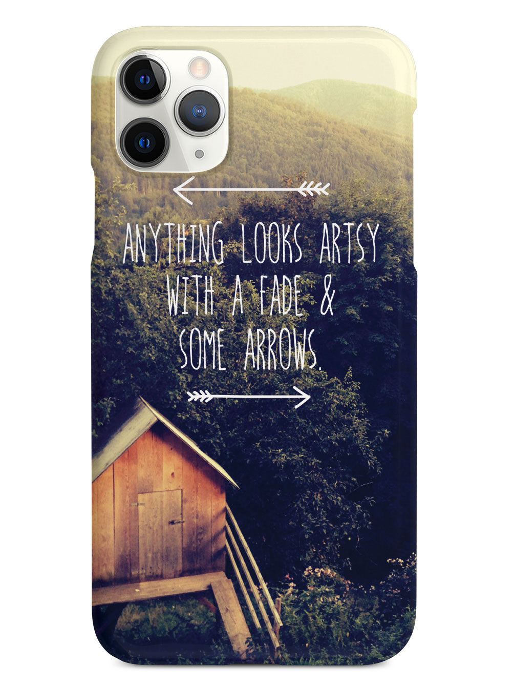 Anything Looks Artsy Humor Funny Case