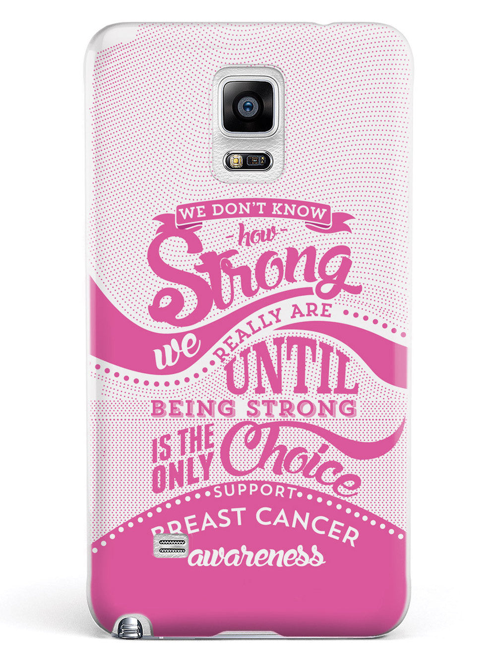 How Strong - Breast Cancer Awareness Case