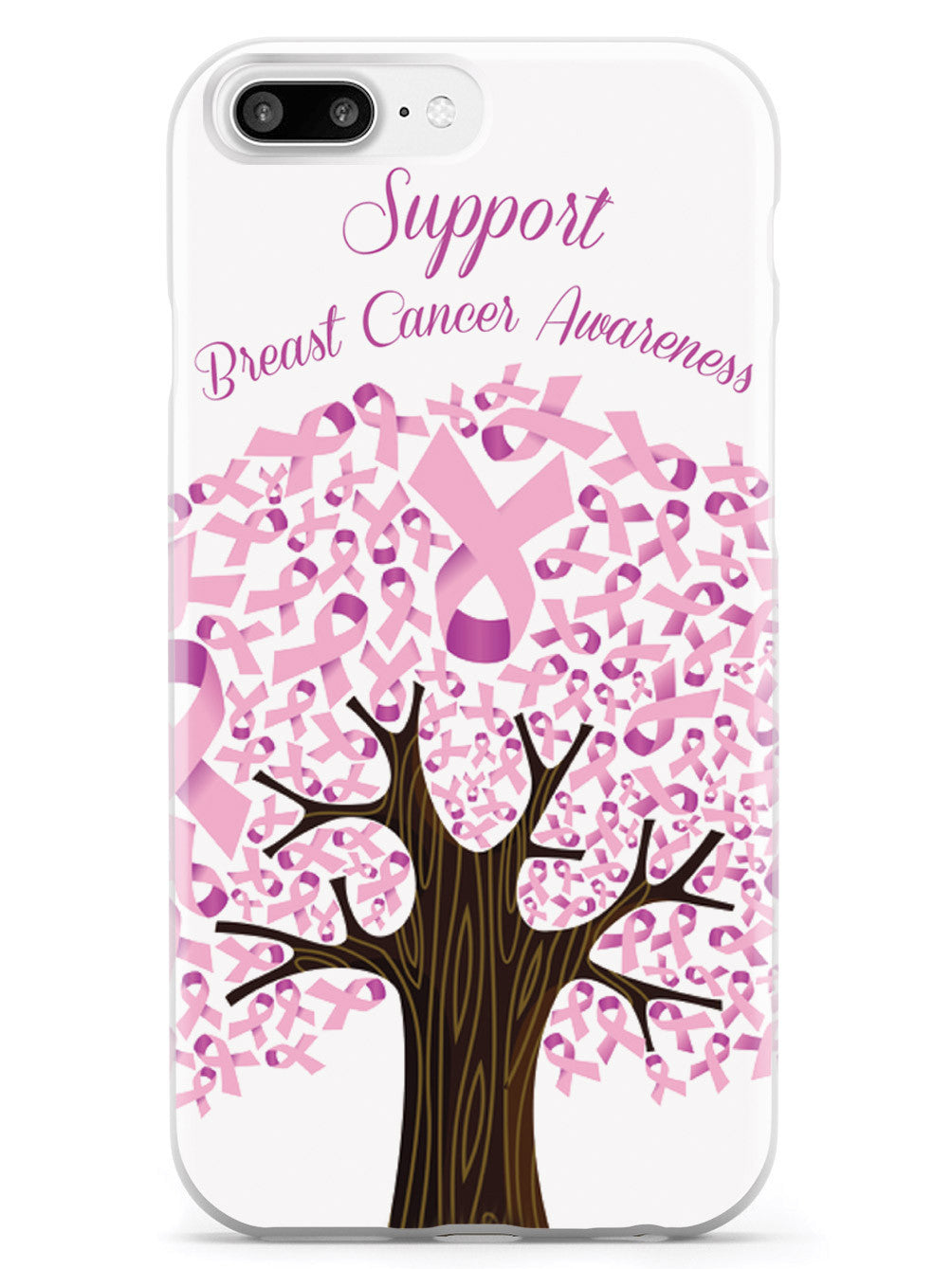 Ribbon Tree - Support Breast Cancer Awareness Case