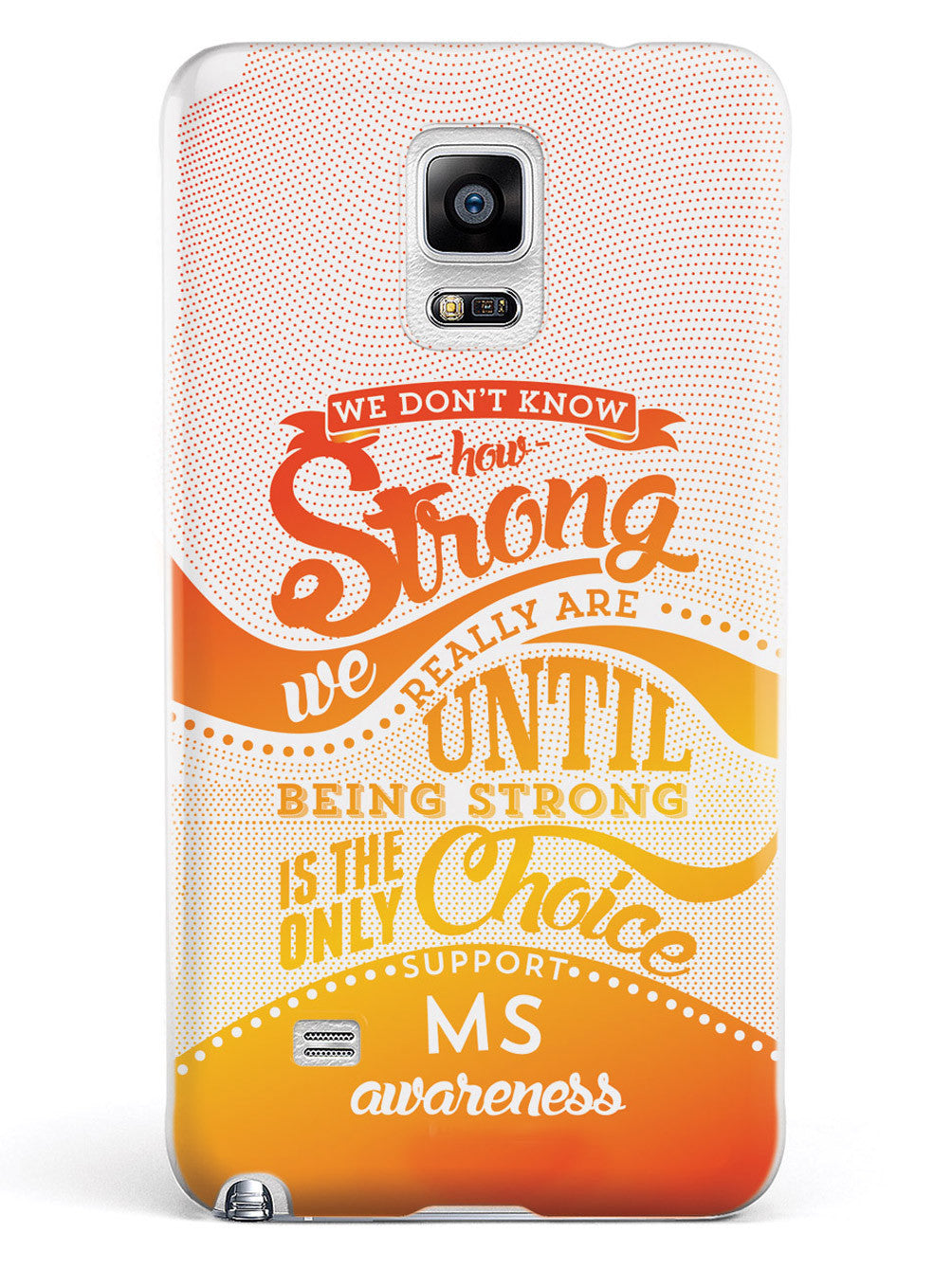 How Strong - MS Multiple Sclerosis Awareness Case