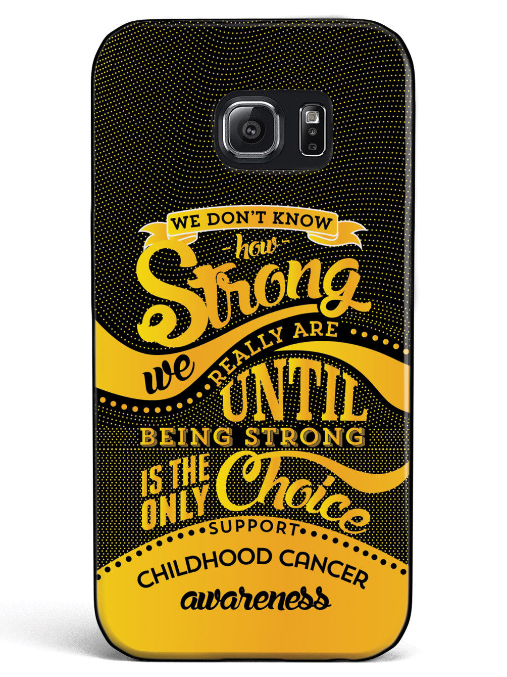 How Strong - Childhood Cancer Awareness Case