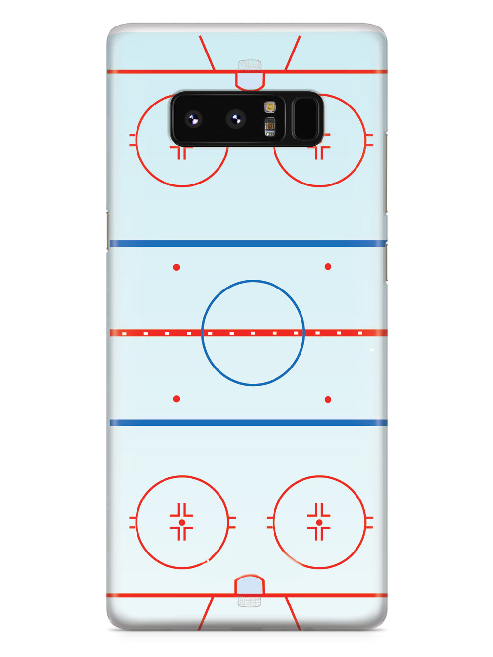 Hockey Rink - Court Outline  Case