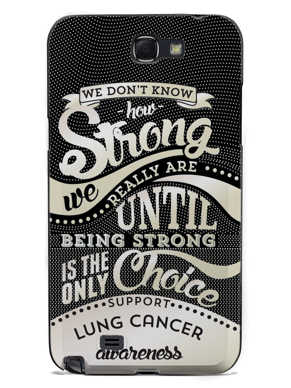 How Strong - Lung Cancer Awareness Case