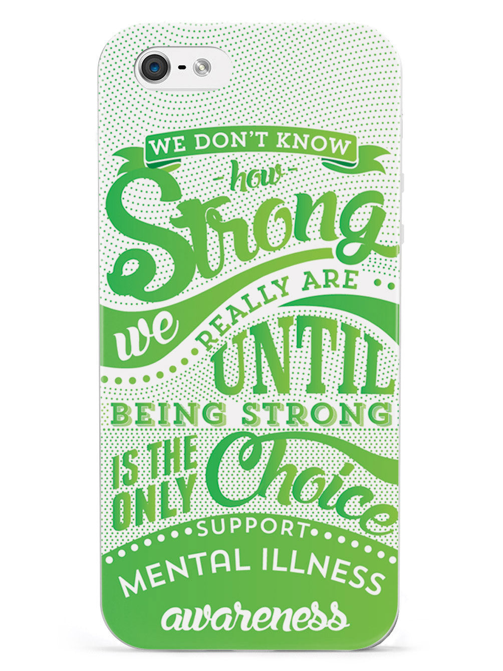 How Strong - Mental Illness Awareness Case