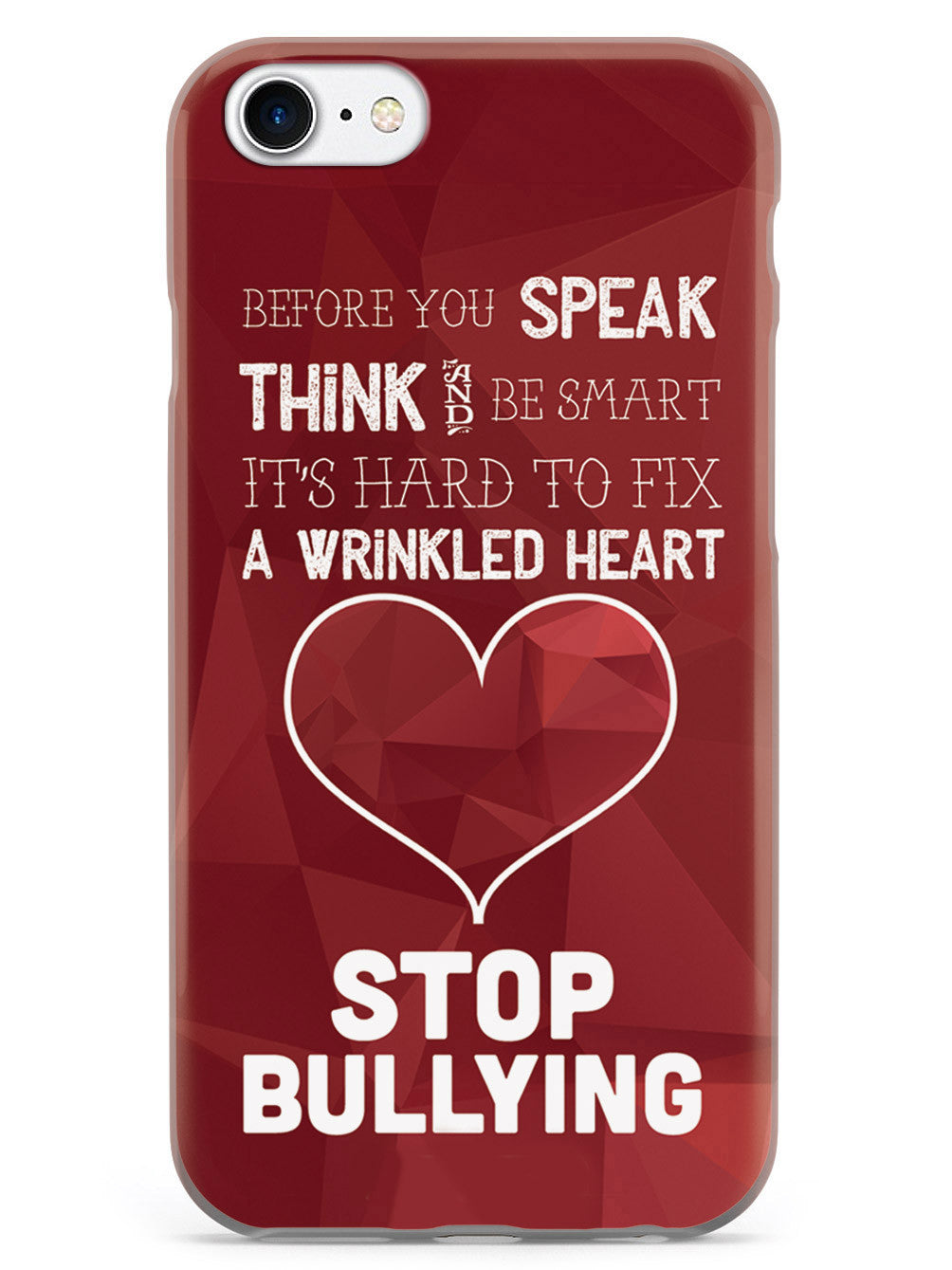 Stop Bullying - Think & Speak   Case