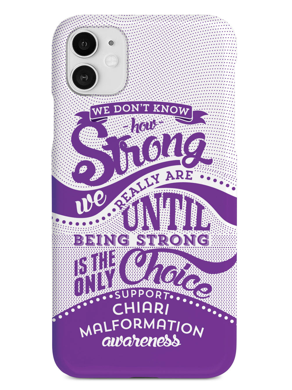 How Strong - Chiari Malformation Awareness Case
