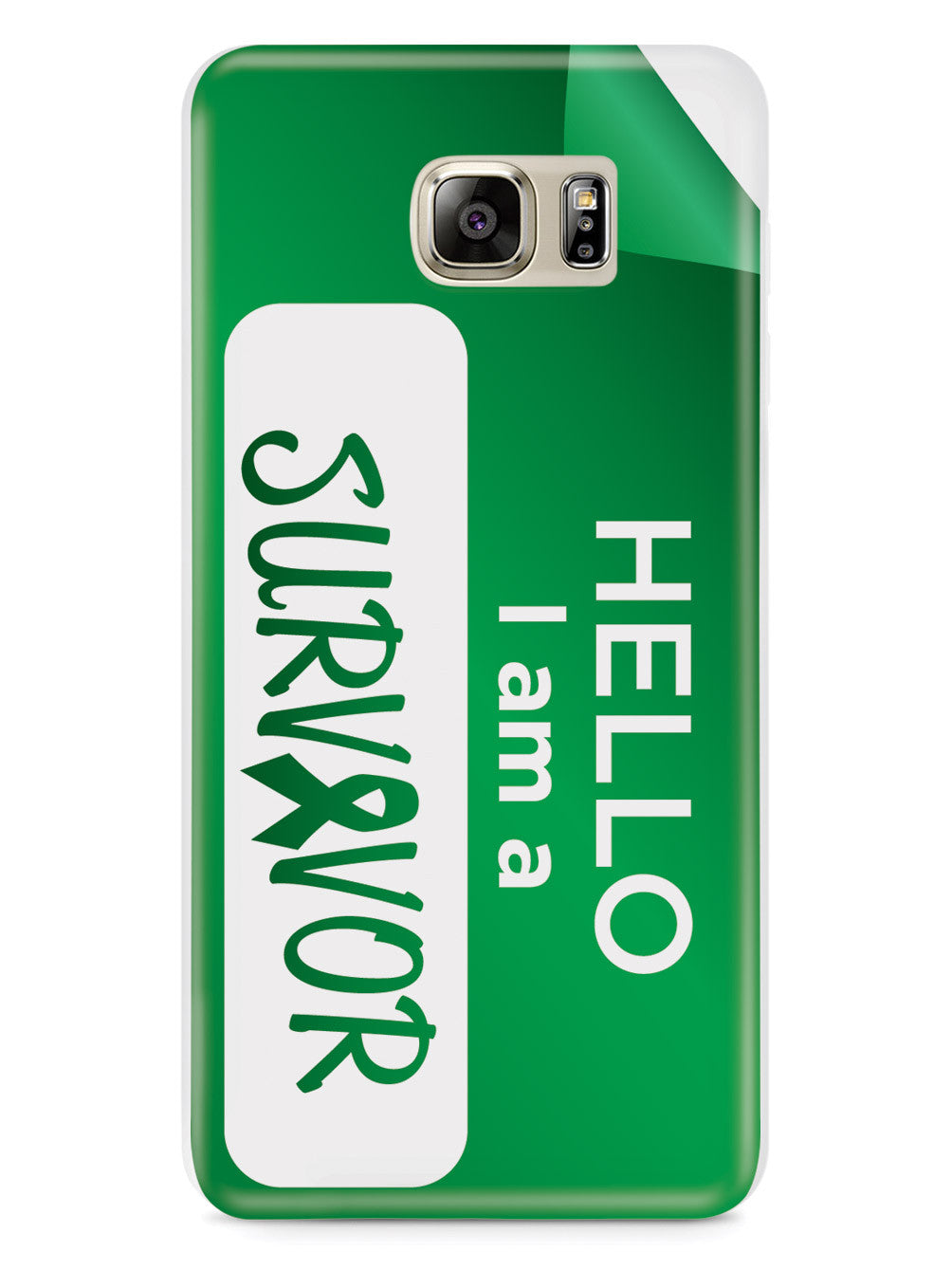 Hello, I am a Survivor  - Green Case