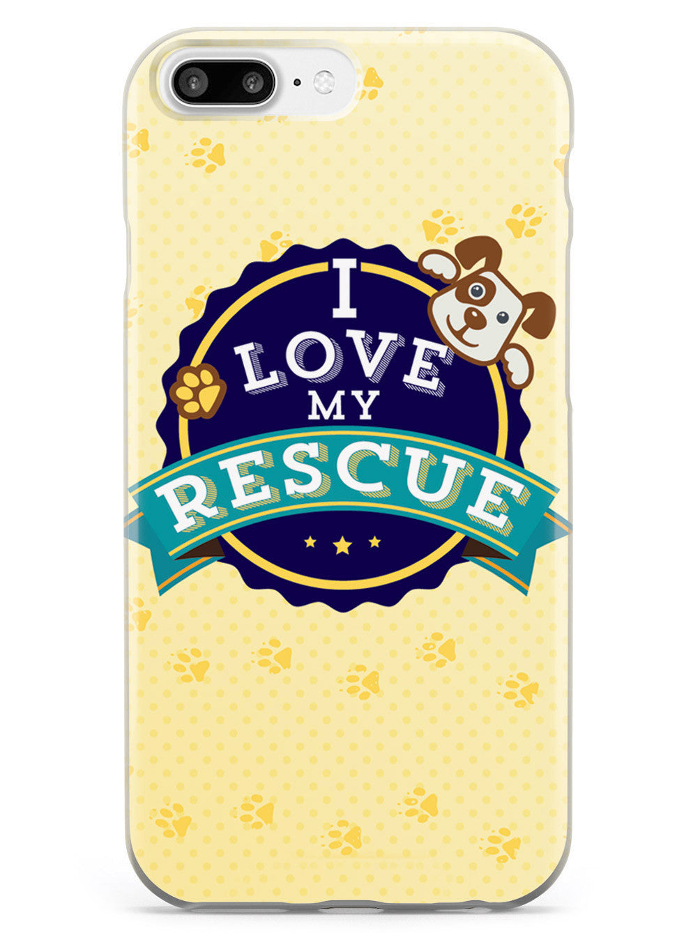 I Love My Rescue Dog - Adopt!  Case