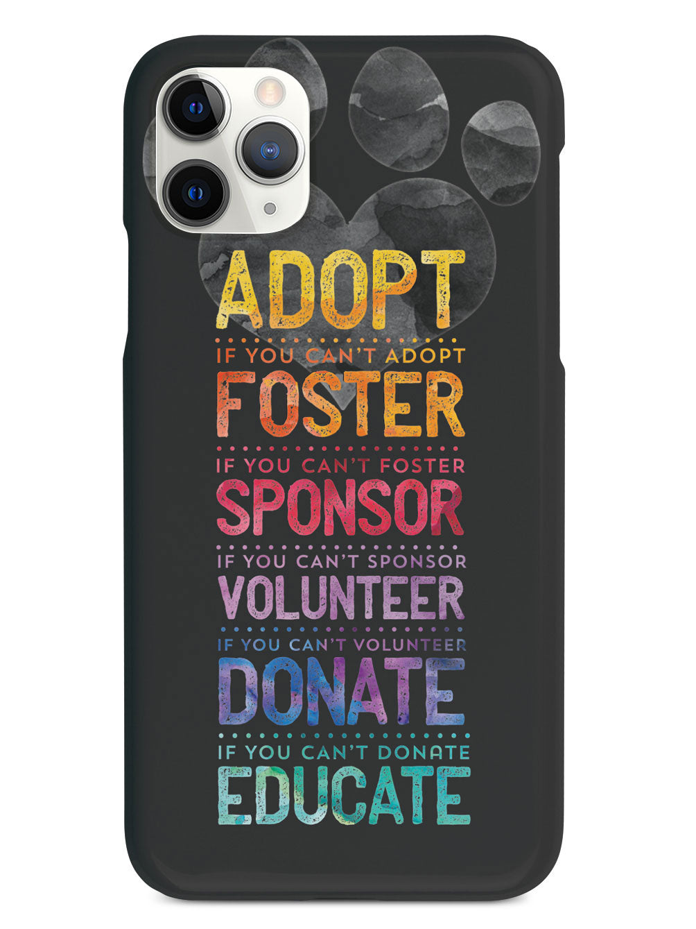Adopt, Foster, Sponsor Educate - Do What YOU Can Case