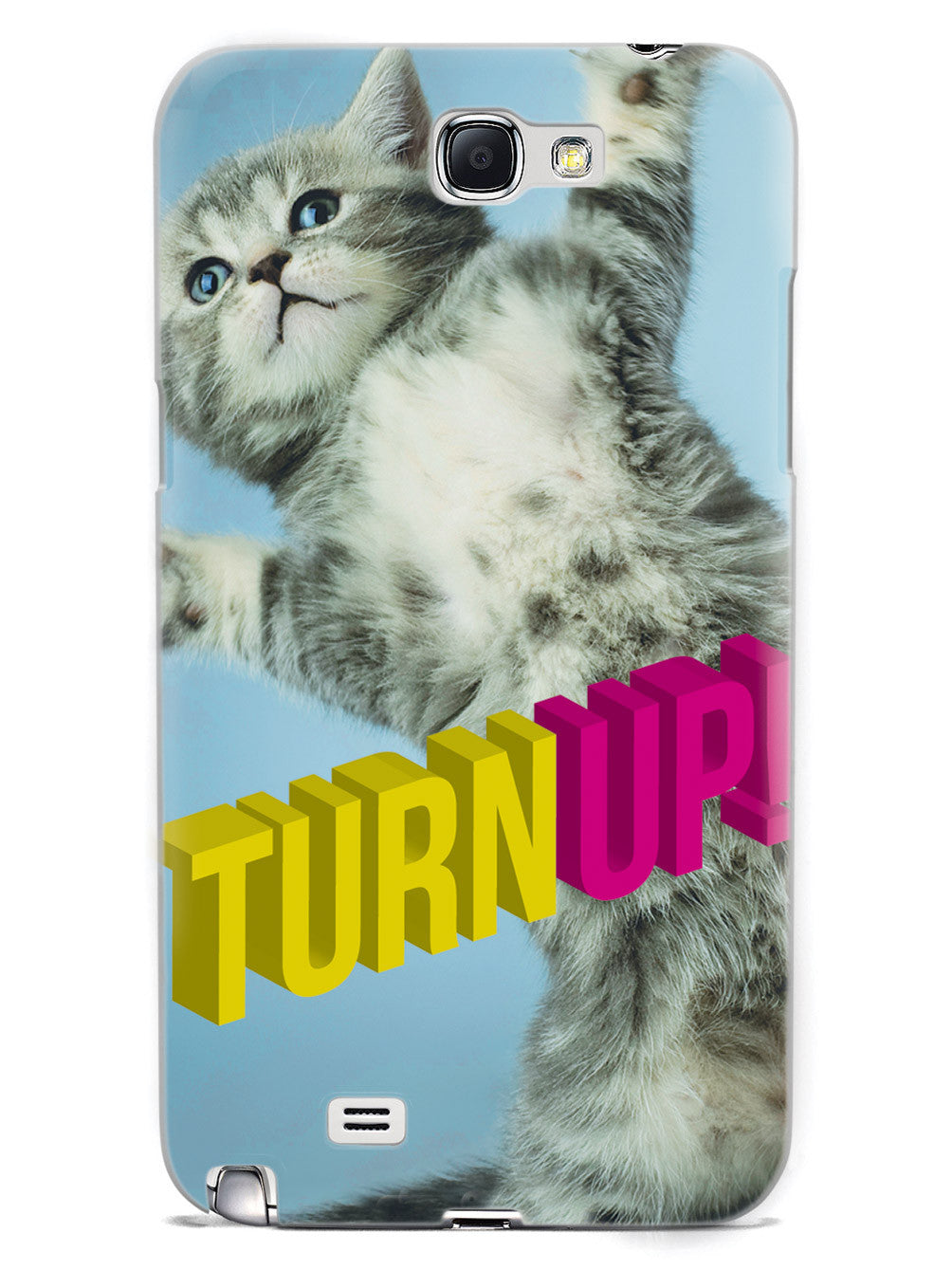 Turnt Up Kitten Party Humor Funny Case
