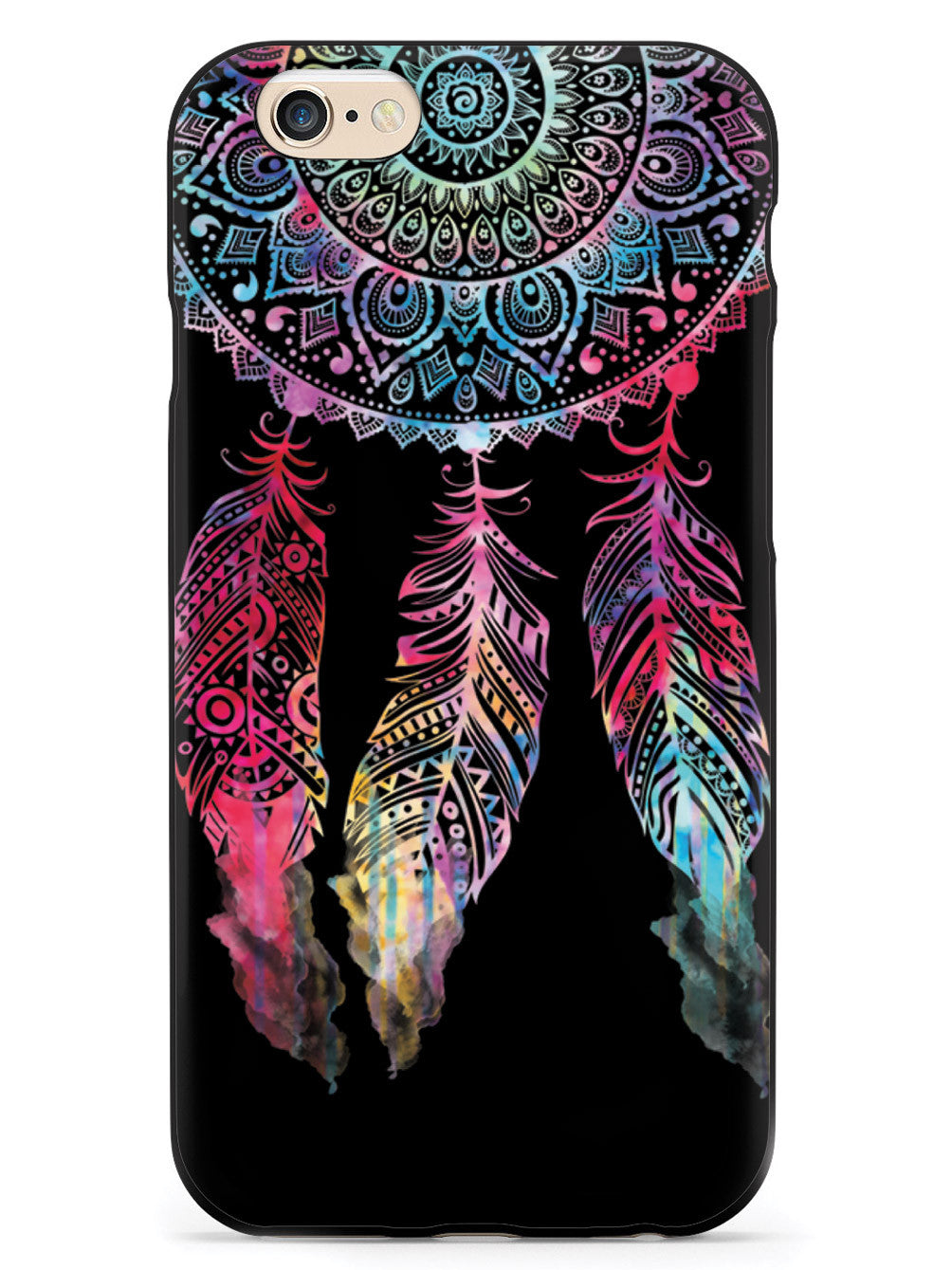 Dark Watercolor Dreamcatcher Spiritual Native American Case