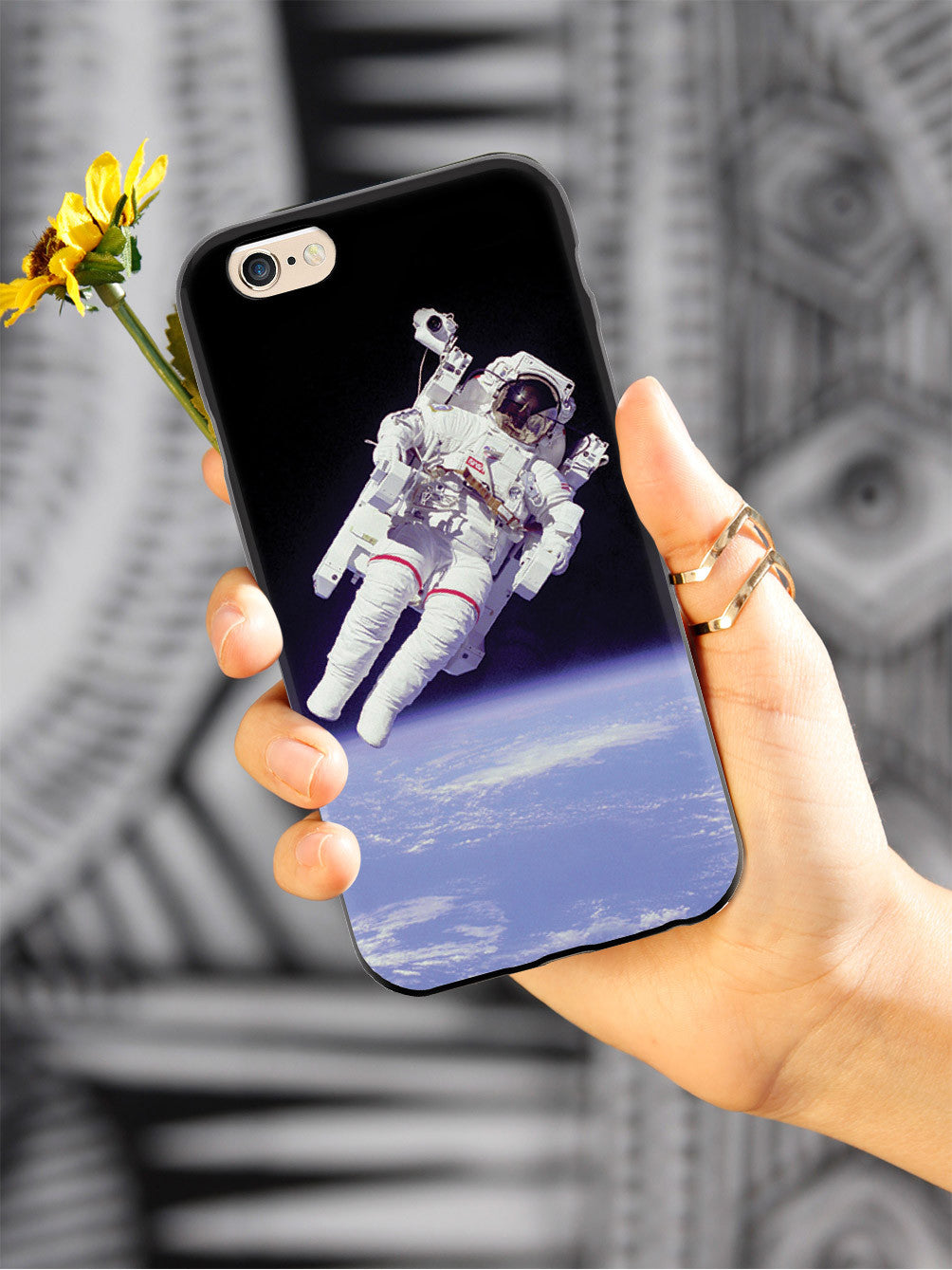 Weightless Astronaut Outer Space  Case
