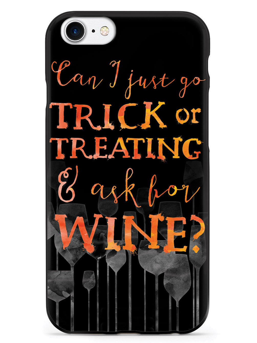 Trick or Treat or Wine? Case