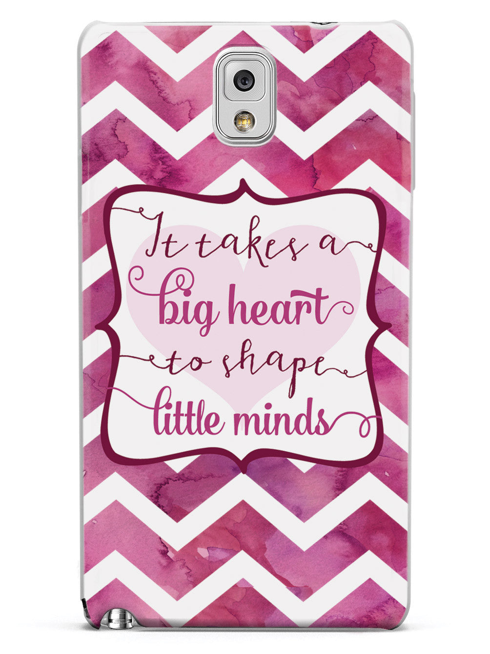 It Takes a Big Heart Quote Inspirational Saying Case
