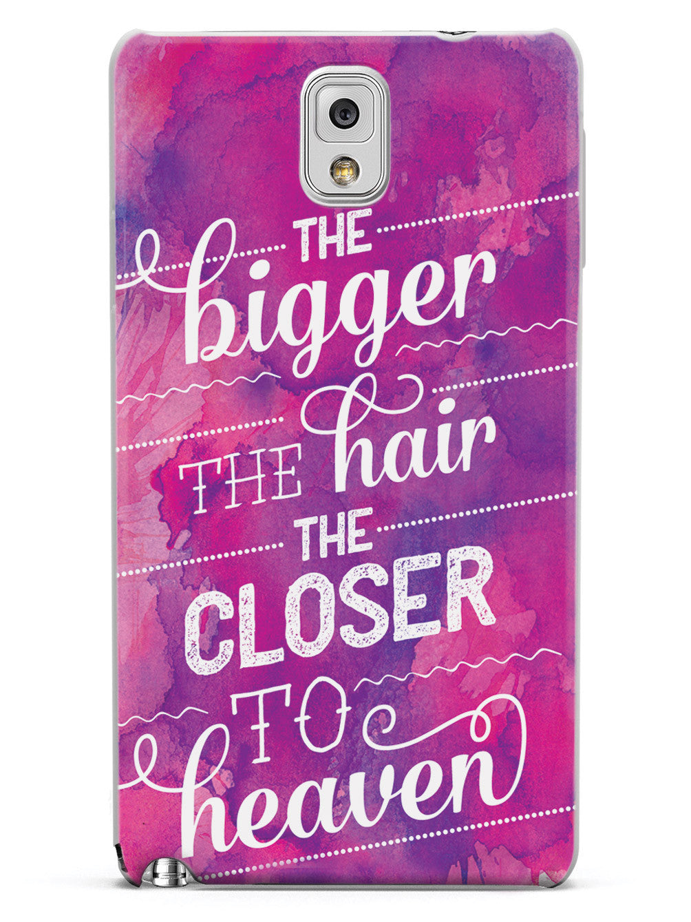 The Bigger the Hair the Closer to Heaven - Case