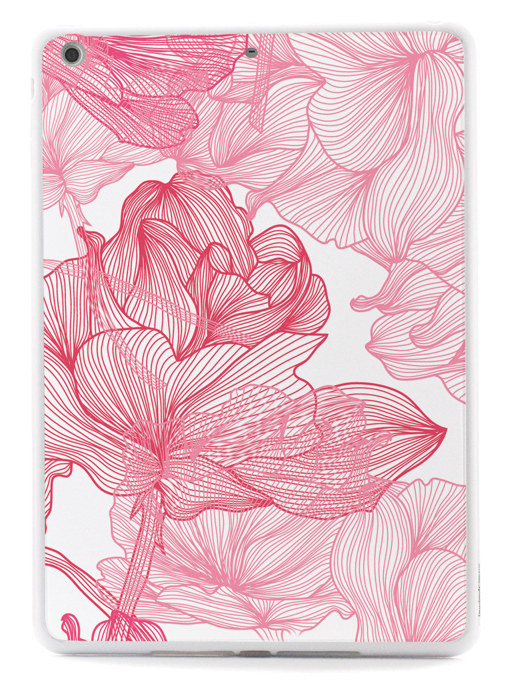 Abstract Line Flower Floral Pattern Case