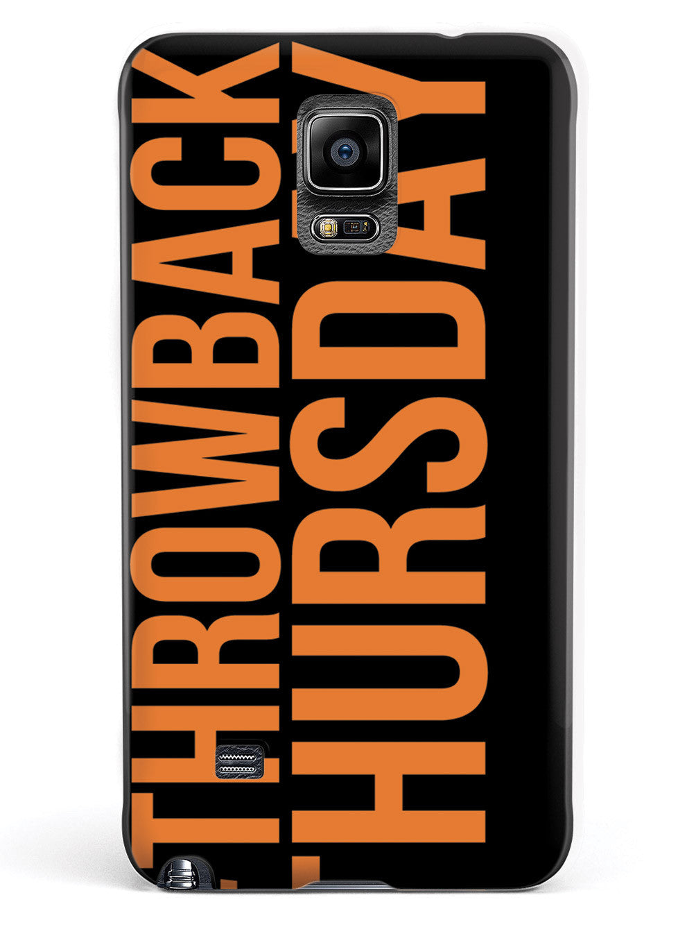 #ThrowbackThursday Orange Throwback Thursday  Case