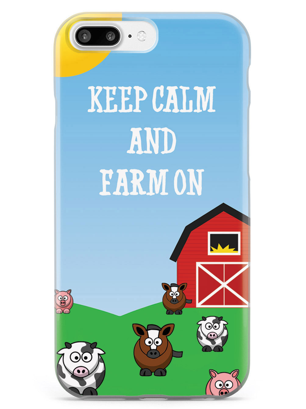 Keep Calm & Farm On Case
